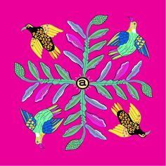 Bird Crossing: Watermelon