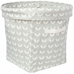 Canvas Storage Tubs