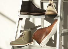 Fashion Men's Shoes on the Internet. Chukka Boots. #menfashion #menshoes #menfootwear