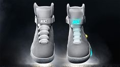 Back in 2011 Nike Air Mag--the shoes that Marty McFly wore in Back to the Future II--didn't have power laces. Nike promised they would come 2015, and today the company delivered. The new Nike Air Mags look almost exactly the same, but there's now a hidden powered mechanism that automatically cinches the sneaker's laces tight once you've inserted your feet.