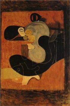 Georges Braque (1882 - 1963) | Cubism, Surrealism | Brown Still Life - 1932