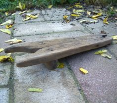 Antique Primitive Rustic Wood Boot Jack