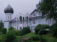 Norwegian Violinist Ole Bull's House, Bergen, Norway