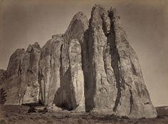 South side of Inscription Rock, New Mexico ppmsca10060u - Timothy H. O'Sullivan - Wikipedia