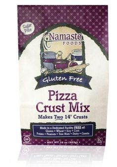 Namaste Foods - Their Pizza Crust makes the most delicious coating for pan-fried chicken or fish! Just dredge in some Pizza Crust mix and pan fry until done. Or just bake and top with Parmesan cheese for delicious bread sticks.