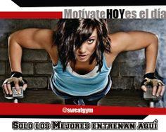 Motivación Sweat Gym. ¡Todos los días es el día! #Salud #Nutrición #Cardio #Musculacion #Culturismo #Fitness #Gym #ComeSano #SweatGym #SoySweatGym #TerritorioSweatGym #MrSweat #SweatGymxVenezuela #ejercicio