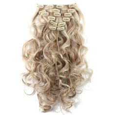 Suit Clips in Hair Extension Curled Wig Piece Fashion stylish and pratical,Attractive ap Wavy Hair Extensions, Synthetic Hair Extensions, Clip In Hair Extensions, Curly Clip Ins, Human Hair Clip Ins, Long Curly Hair, Curly Hair Styles, Natural Hair Styles, Twist Hairstyles