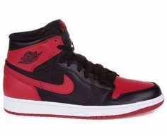 82e5731cf2e92d Air Jordan 1 High OG Bred Black Red and White