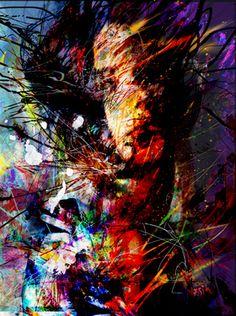 """Saatchi Art Artist yossi kotler; Painting, """"hidden soul"""" #art"""
