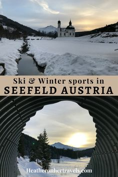 Read about all the winter sports on offer in Seefeld, Austria - with cross-country ski, winter hiking and more, there's a lot more to do than downhill ski Austria Winter, Winter Hiking, Travel Reviews, Cross Country Skiing, Lake George, Winter Sports, Hiking Trails, Travel Posters, Outdoor Activities
