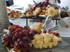 Gourmet Fruit and Cheese Platters- Glen Foerd on the Delaware Open House