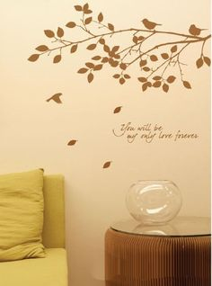 You Will Be My Only Love Forever Wall Sticker