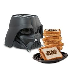 Join the dark side with this Star Wars Darth Vader toaster.  This is the perfect gift for him or her.  Get it for your mom, dad, sister, brother, fiance, husband, wife, boyfriend, or girlfriend!  This will definitely be the talking point of your kitchen.