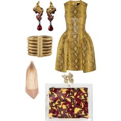 """Rich Bi..h"" by ncherkashova on Polyvore"