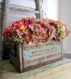 Magical Home Inspirations Fall Flowers, Dried Flowers, Beautiful Flowers, Wedding Flowers, Bouquet Champetre, Pot Pourri, Magical Home, Shabby Chic Farmhouse, Deco Floral