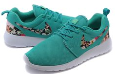 best service 44472 d1168 Buy Mens Womens Nike Roshe One Print Flower Series Running Shoes Mint from  Reliable Mens Womens Nike Roshe One Print Flower Series Running Shoes Mint  ...
