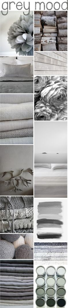 the style inspiration: grey moods !