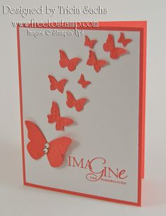 Calypso Butterflies by thesachsgirl - Cards and Paper Crafts at Splitcoaststampers