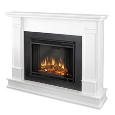 Looking for Real Flame Silverton Electric Fireplace, Medium, White ? Check out our picks for the Real Flame Silverton Electric Fireplace, Medium, White from the popular stores - all in one. Home Fireplace, Faux Fireplace, Fireplace Inserts, Fireplace Surrounds, Fireplace Design, Fireplace Mantels, Fireplace Ideas, Victorian Fireplace, Small Fireplace