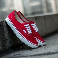 Vans U AUTHENTIC červená