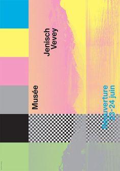 Musée Jenisch Vevey by Gavillet & Rust Vevey, Communication Design, Muse, Identity, Typography, Branding, Layout, Graphic Design, Creative