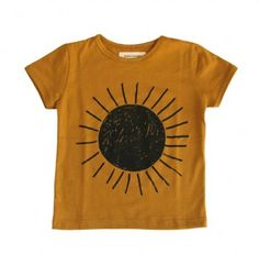 sunshine t Would like this t-shirt if it were a little longer. It looks like it would probably hit waist or just slightly past the waist.