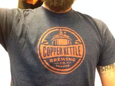 My favorite BeerTShirtClub T: a coppery Copper Kettle!