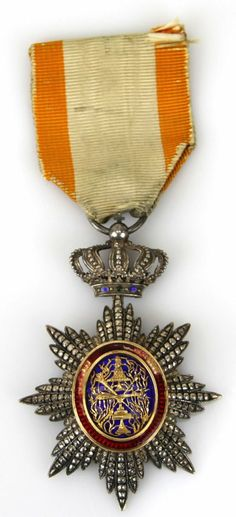 FRENCH ROYAL ORDER OF CAMBODIA MEDAL : Lot 5006