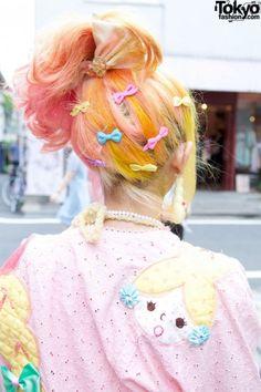 decora fairy kei hair harajuku kawaii japanese fashion