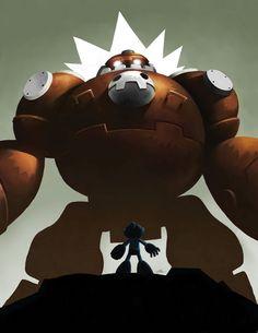 Little Megaman by ~m-U-n-s-t-e-r