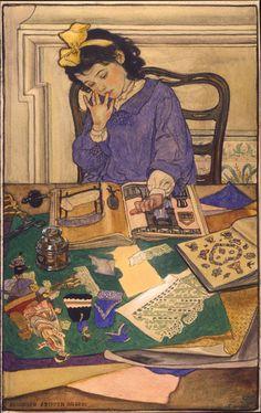 ELIZABETH SHIPPEN GREEN - National Museum of American Illustration