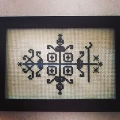 Hey, I found this really awesome Etsy listing at http://www.etsy.com/listing/177228228/papa-legba-voodoo-veve-cross-stitch