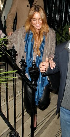 Radar Online | Late Night Lindsay? Lohan Looking Tired In London