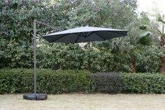 Κρεμ.ομπρέλα ηλίου TRONDHEIM Ø300cm γκρι