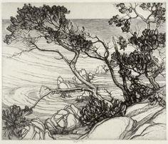 Roi Partridge(American, 1888-1984)California Coast 1924–1925 ...