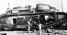 This FCM 2C was destroyed by it's own crew...