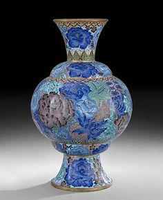 Chinese Cloisonne Vase Porcelain , Art , Jade , Glass,  Wood and Antiques : More At FOSTERGINGER @ Pinterest