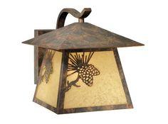 Christian 1-Light Outdoor Wall Lantern