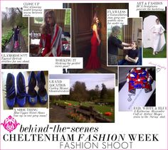 Behind the Scenes on Cheltenham Fashion Week's Cotswold Style Fashion Shoot - Diamond Jubilee June Issue Fashion Shoot, Fashion Art, Style Fashion, Fashion Beauty, Luxury Fashion, See Photo, Behind The Scenes, The Past, June