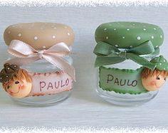 Clay Crafts, Diy And Crafts, Clay Jar, Ideas Para Fiestas, Pasta Flexible, Clay Flowers, Jar Lids, Handmade Polymer Clay, Fabric Painting
