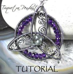 Confessions of Crafty Witches  Triquetra Pendant Tutorial    http://www.craftsy.com/pattern/jewelry/pendant/triquetra-pendant-tutorial/13659  $10 for pattern - 53 steps and 81 photos in the pattern.