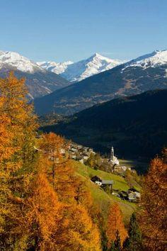 Autunno a Bormio, autumn in Bormio