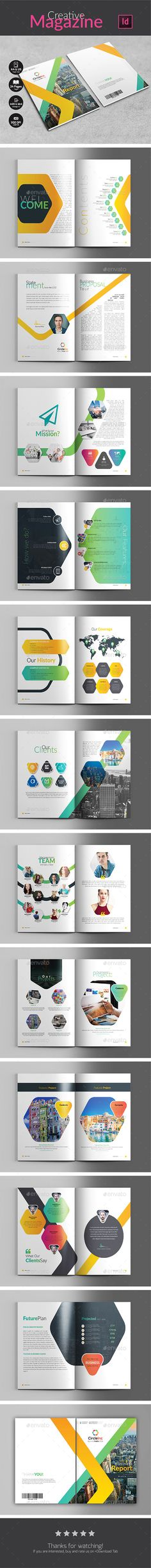 Company Proposal #fashion #simple magazine  • Download here → https://graphicriver.net/item/company-proposal/20982050?ref=pxcr