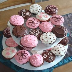 Pink and Brown Baby Shower Ideas | Ideas For Baby Shower