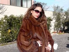 MINK FUR COAT 974