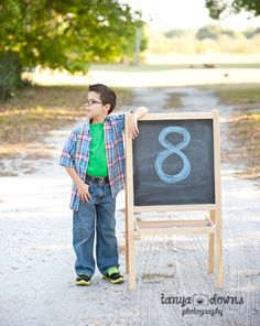 Drew turns 8! » Children's photography, country session, birthday session, 8 year old boy session, Tanya Downs Photography