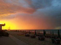 Magnifico #tramonto all'#hotelimperialmarotta