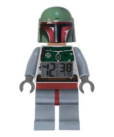 Take a look at this Boba Fett LEGO Star Wars Clock by LEGO on #zulily today!
