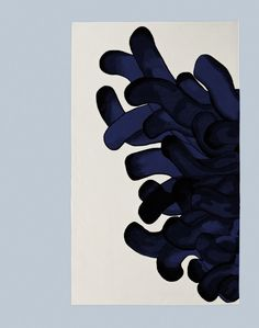 carpet with anemone design