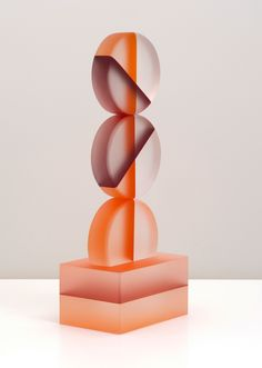 Sublime Glass Sculptures by Rhoda Baer.